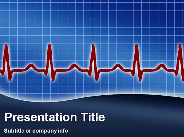 Template PowerPoint tema kesehatan