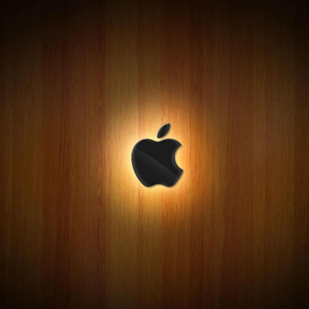 apple logo in green glitters wallpapers - Apple Logo in Green Glitters Wallpapers Free HD