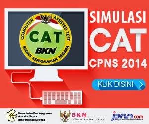 SIMULASI  TES  CAT CPNS 2014