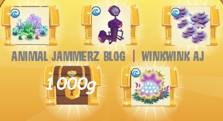 In too deep animal jam prizes for return
