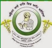 Baba Farid University of Health Sciences (BFUHS) Recruitment 2014 Teaching & Non- Teaching posts Govt. Job Alert.