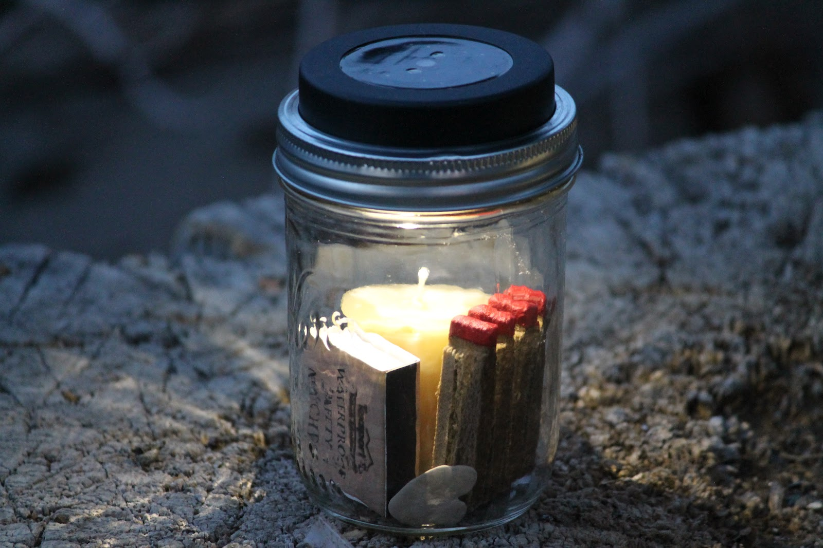 Elk camp solar lanterns provisions camp wander for Homemade lantern lights