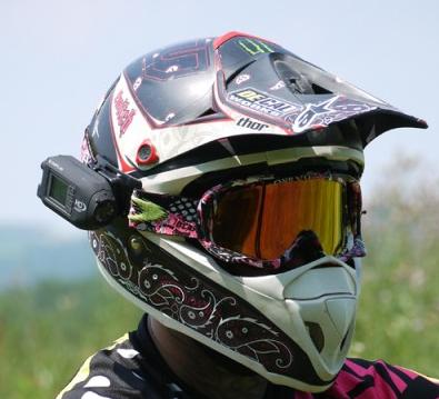 Видео камера на шлем / руль