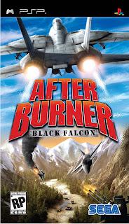 PSP ISO After Burner Black Falcon