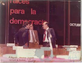 Con Felipe y Alfonso
