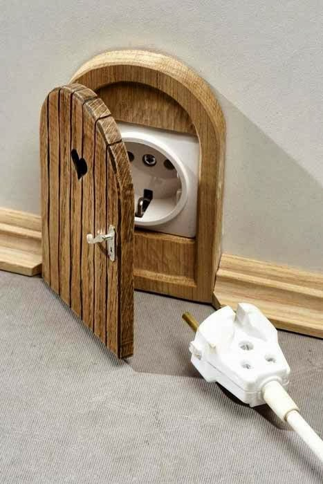 Hobbit Doors Outlet-Wall Plug Cover & Hobbit Doors Outlet-Wall Plug Cover ~ GOODIY