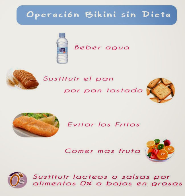 Dieta sana operacion bikini