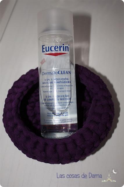 Eucerin DermatoClean solución micelar