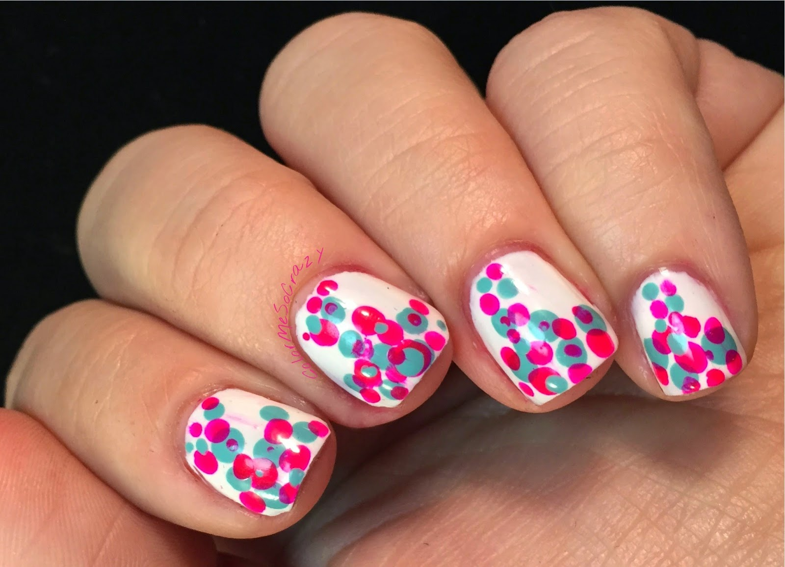 52 Week Challenge Presents Dotting Tools and Pink and Aqua