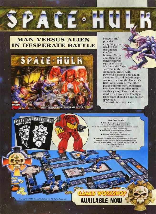 Space Hulk en la White Dwarf