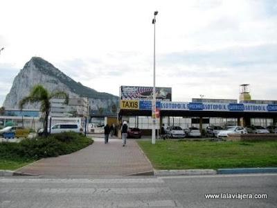 Gibraltar desde La Linea de la Concepcion