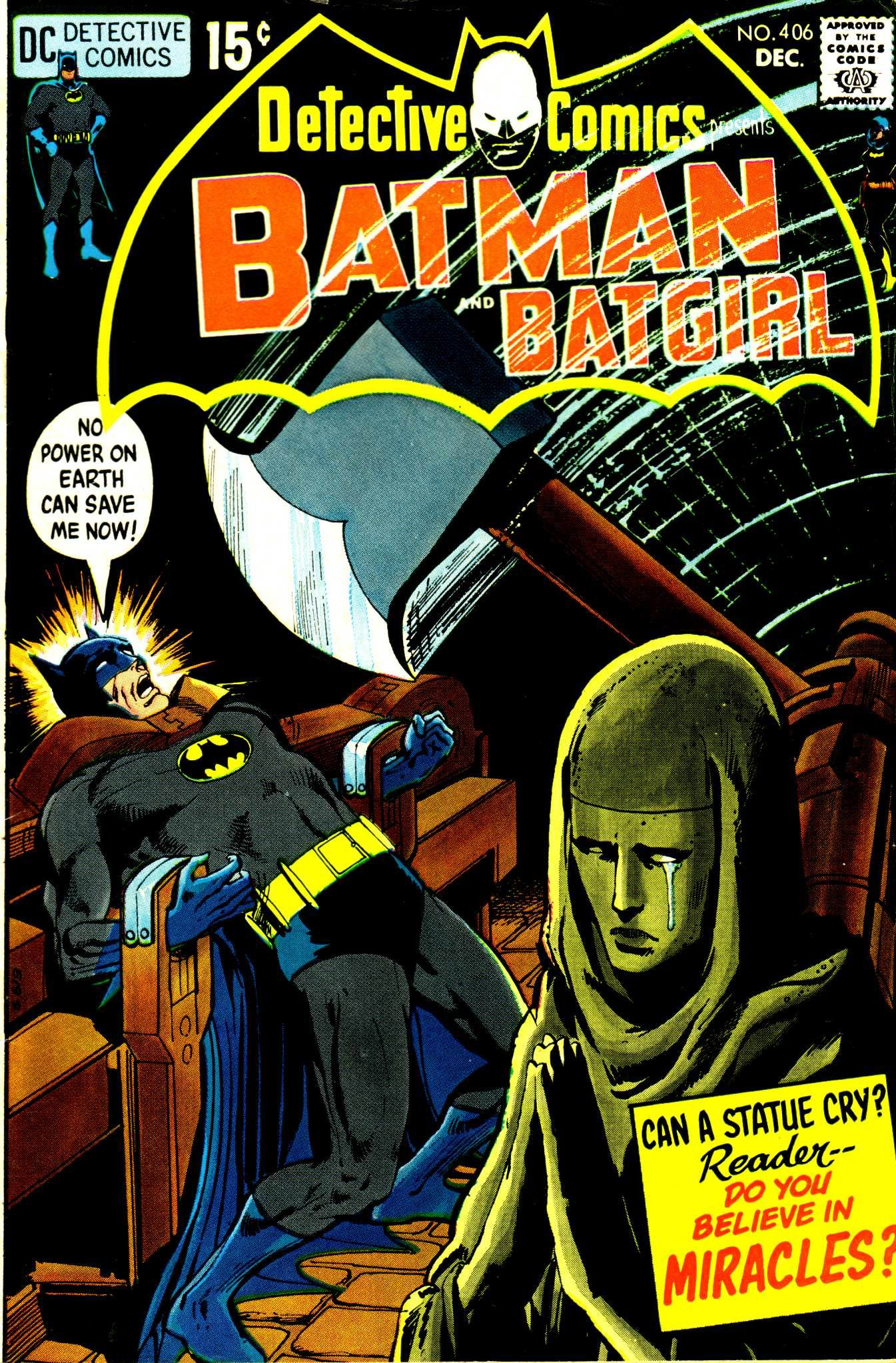Detective Comics (1937) 406 Page 1