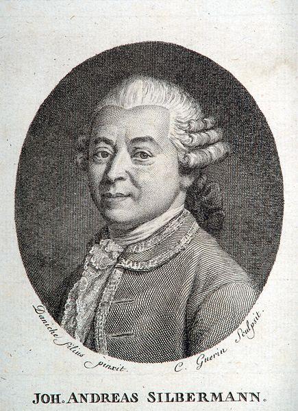 Johann Andreas Silbermann Jean Andr 1712