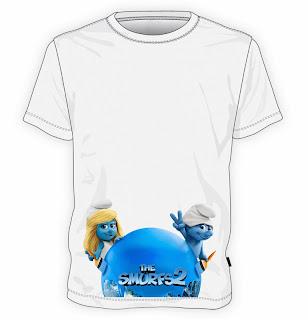 koszulka Smerfy