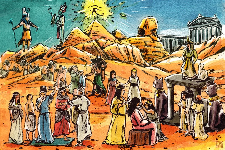 Le 10 usanze assurde degli antichi egizi. lesploratore