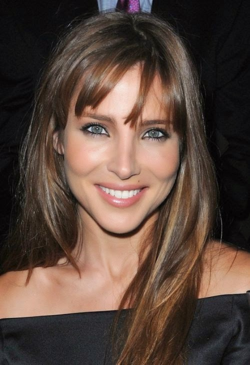 Women Long Hairstyles for Square Faces 2015