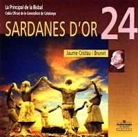 Caràtula del CD Sardanes d'Or XXIV/Jaume Cristau