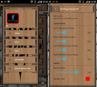 Mod BBM Wood Theme Based 2.9.0 APK