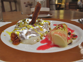 Shahi Tukra and Kulfi at Dum Pukht