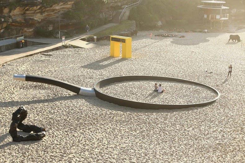 Escultura por el mar: Una exposición al aire libre en la playa de Bondi