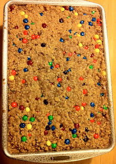 Chocolate Candy Oat Bar Cookies Recipe Gluten Free