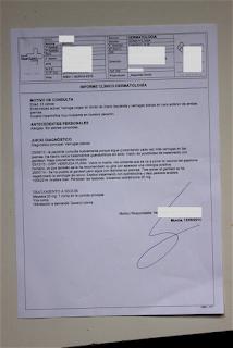 Informe Médico Verrugas Planas – Kinnatur 2015