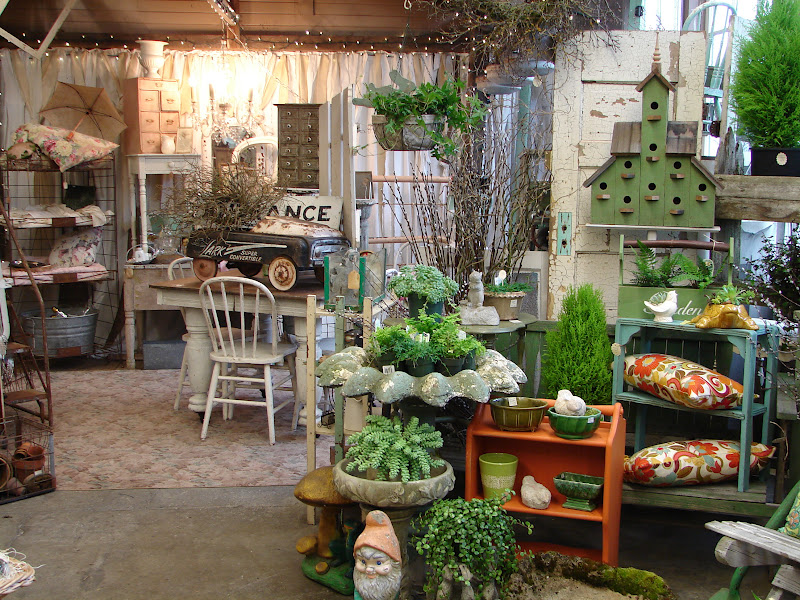 Monticello Antique Marketplace Home Garden Show Reveal