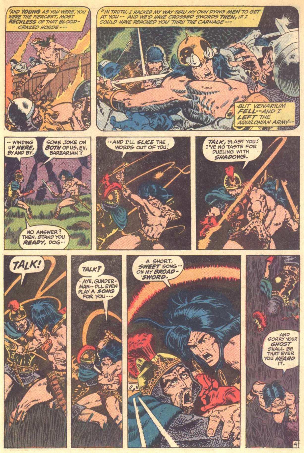 Conan the Barbarian (1970) Issue #8 #20 - English 5