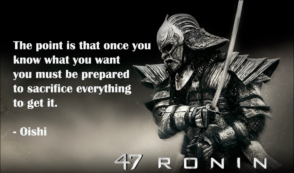 Pocketful Of Sunshine Of Discipline Patience And Loyalty 47 Ronin