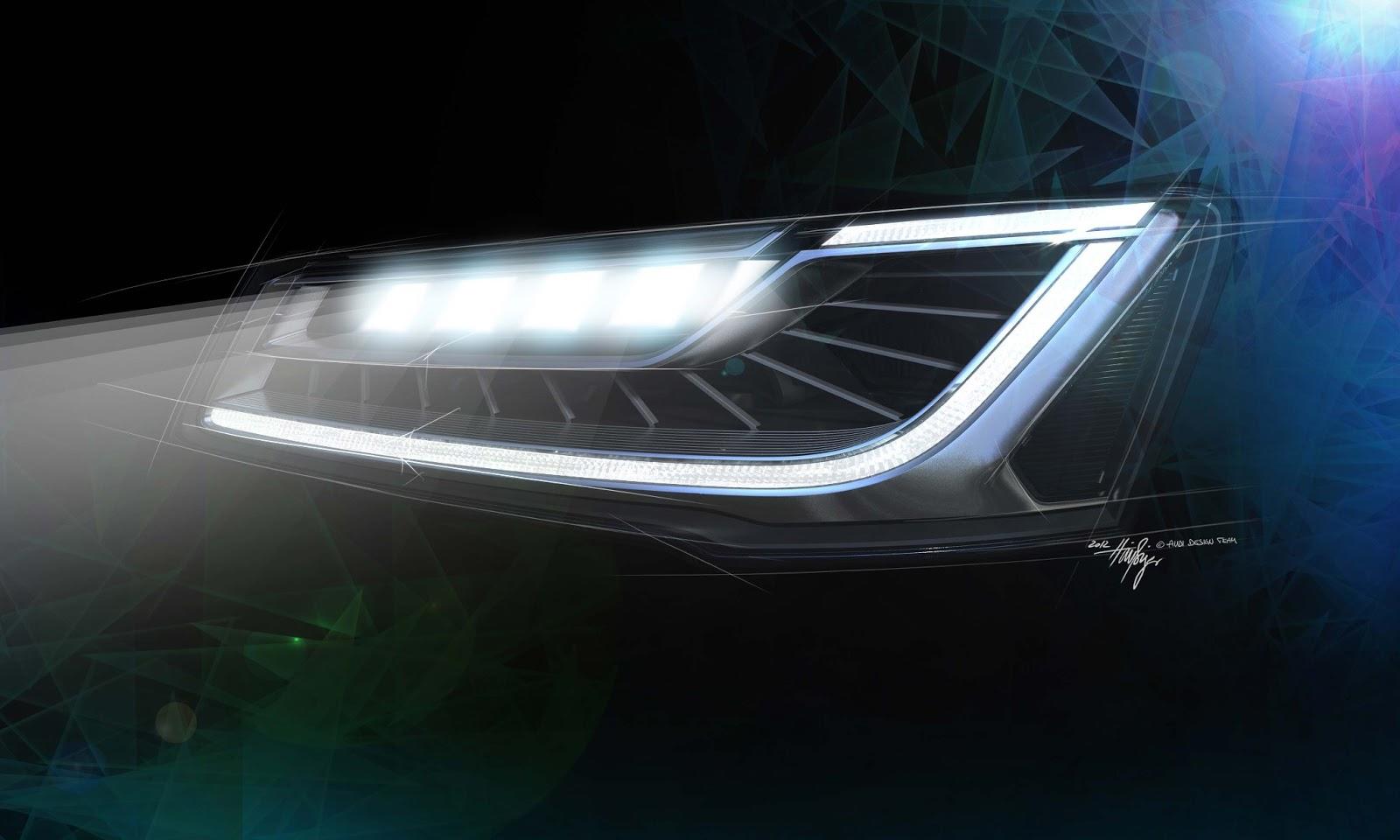 voiture du futur avec les matrix led audi conforte son avance dans l 39 clairage. Black Bedroom Furniture Sets. Home Design Ideas