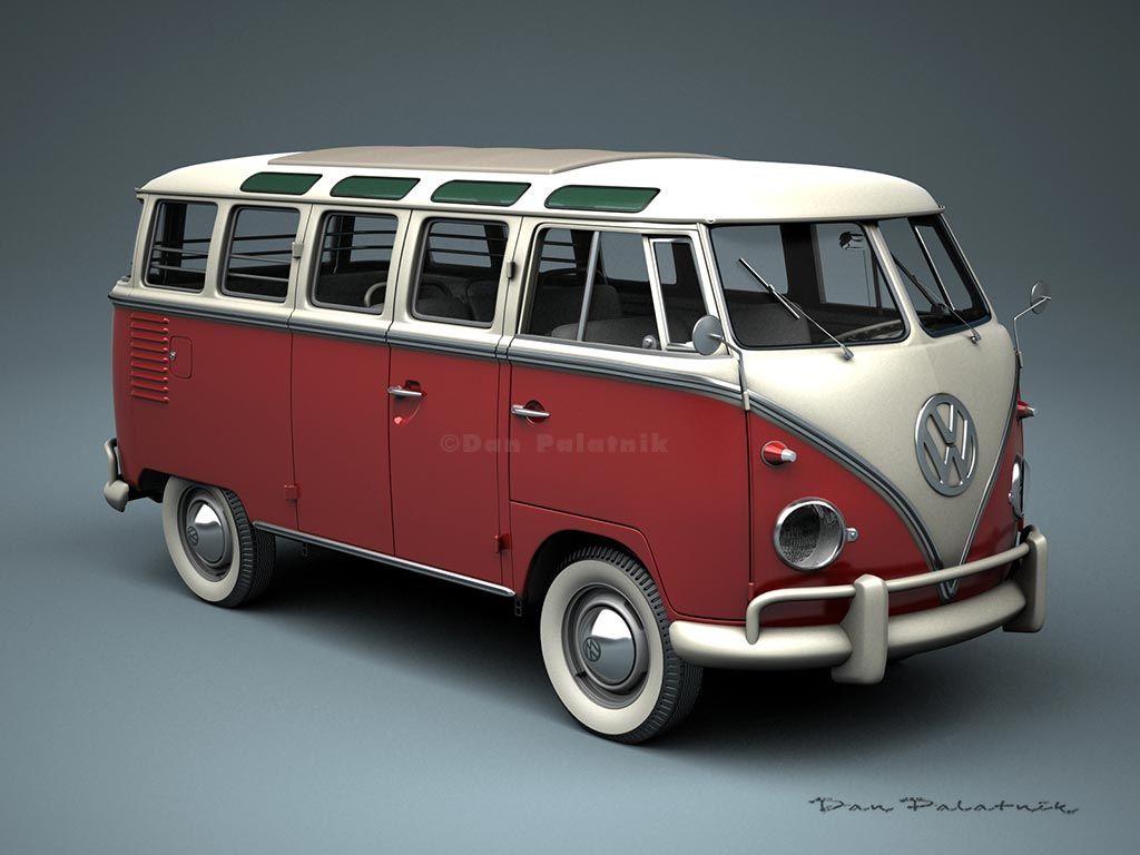 A garagem digital de dan palatnik the digital garage for 1958 vw bus 23 window