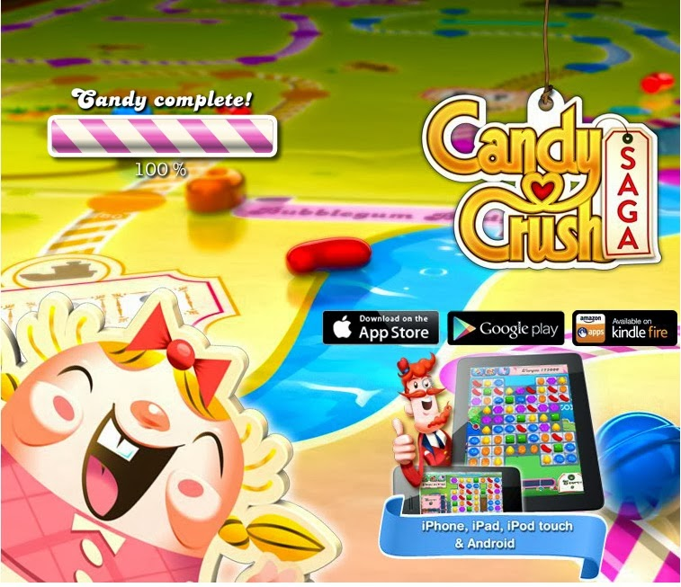 Then just go to your Facebook and select Candy Crush Saga and you