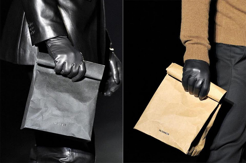Oddity Of The Day Most Expensive Paper Bag Ever Or Jil Sander S Answer To Manbag