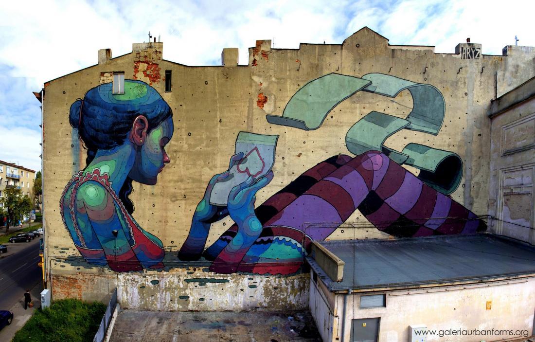 Radyo Dinle Radyoyo 3 Sokak Sanatı Gerçek Boya Duvar Resimleri