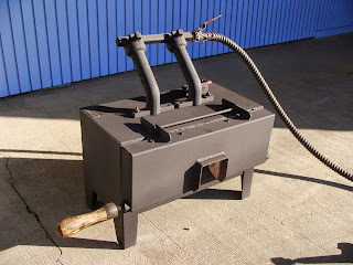 NC Tool Co. Double Burner Forge