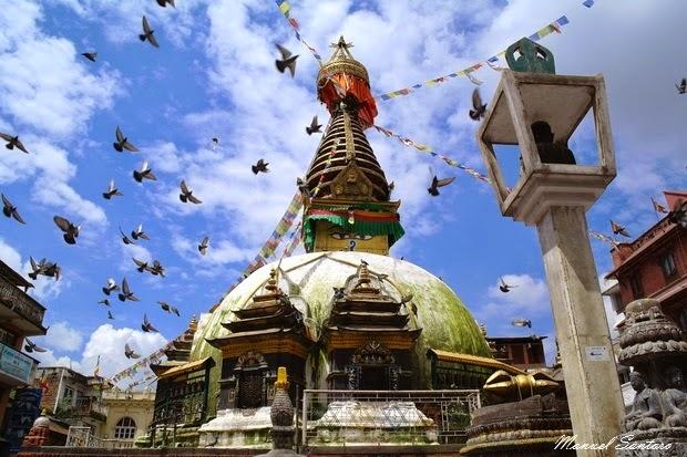 Kathmandu, stupa di Kathesimbhu