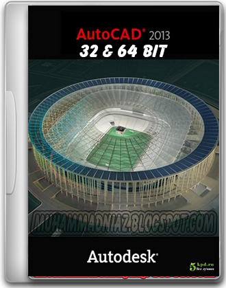 autocad 2013  32 bit and 64 bit with crack full version