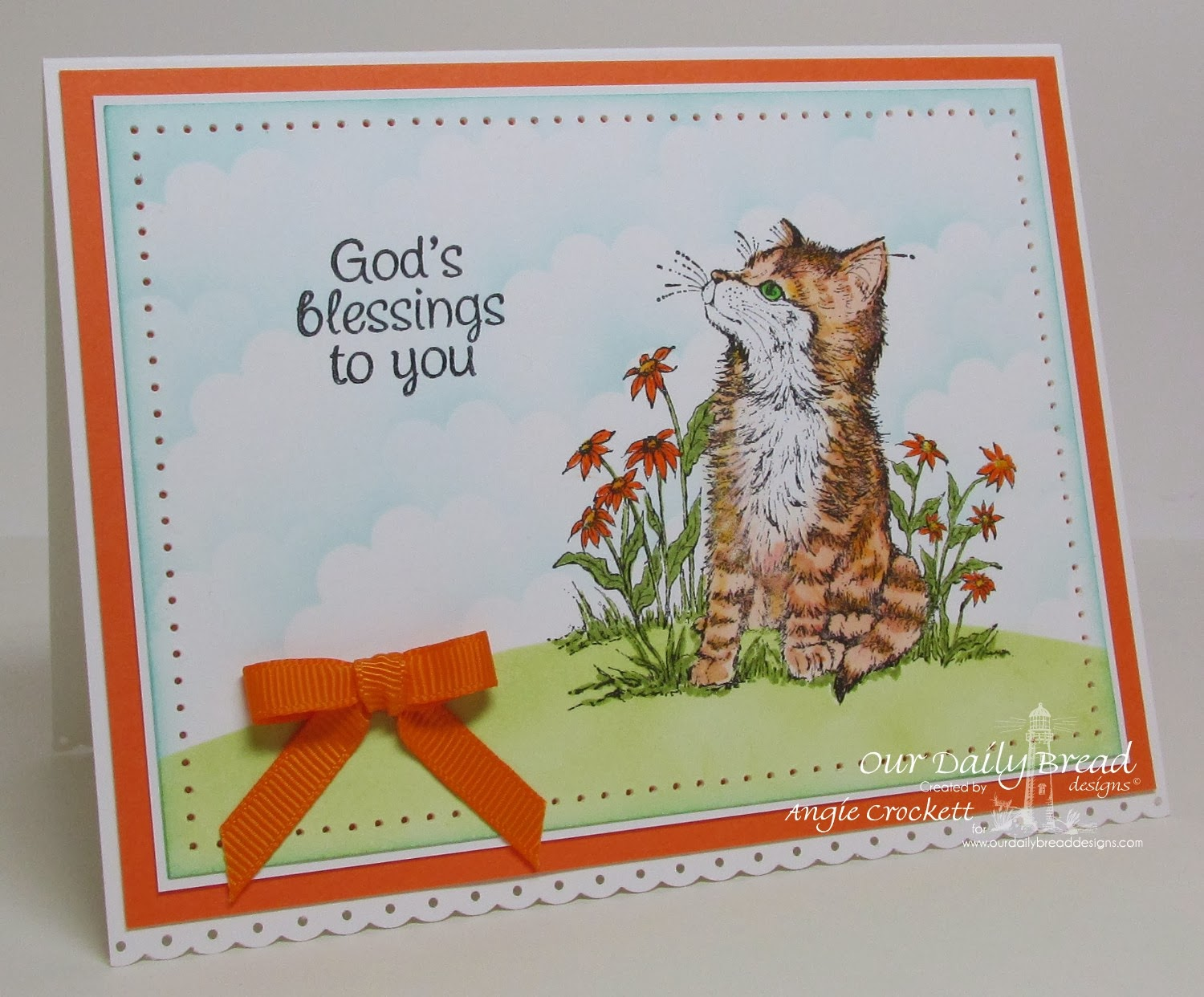 ODBD Cat Sympathy and Mini Tags 3, Card Designer Angie Crockett