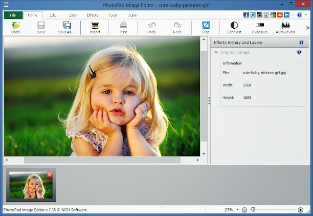 Kute Group Download Photopad Image Editor Software