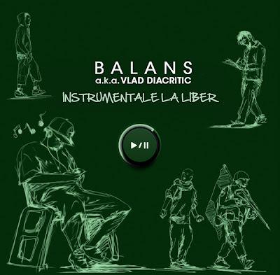 """Concurs: Castiga doua albume """"Balans a.k.a. Vlad Diacritic - Instrumentale la liber"""""""