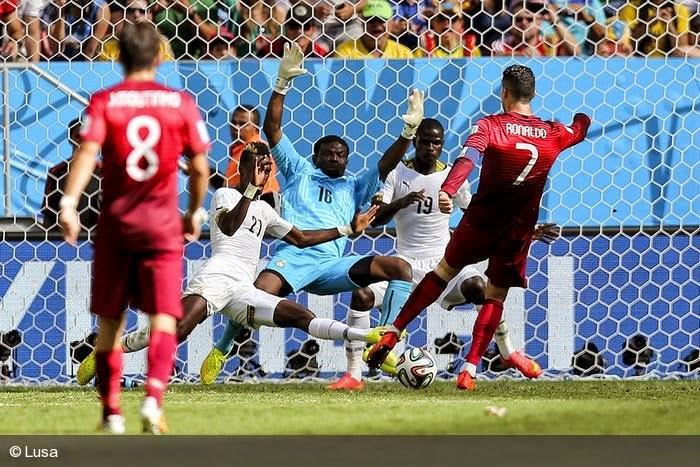 Portugal ganha Gana, mas perde o mundial!