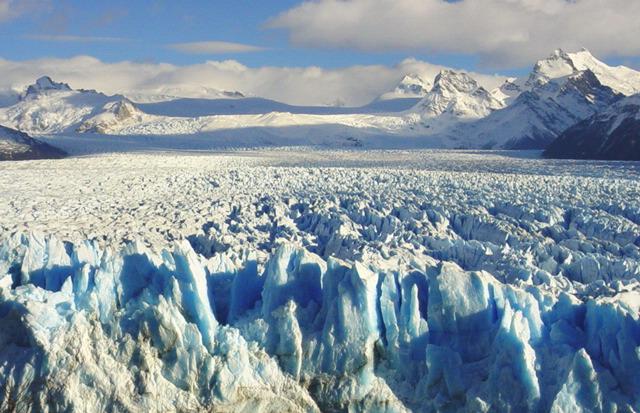 Continental Glacier Example As the glacier recedes and the