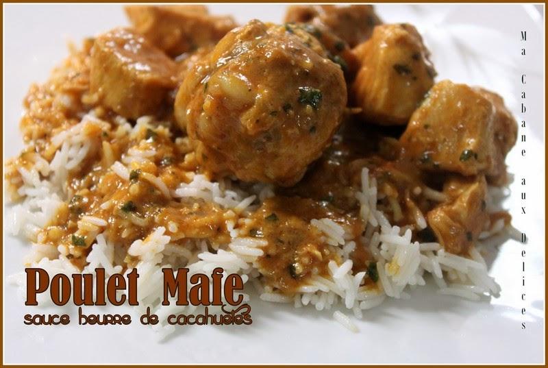 poulet mafe tigadegue ou sauce arachide