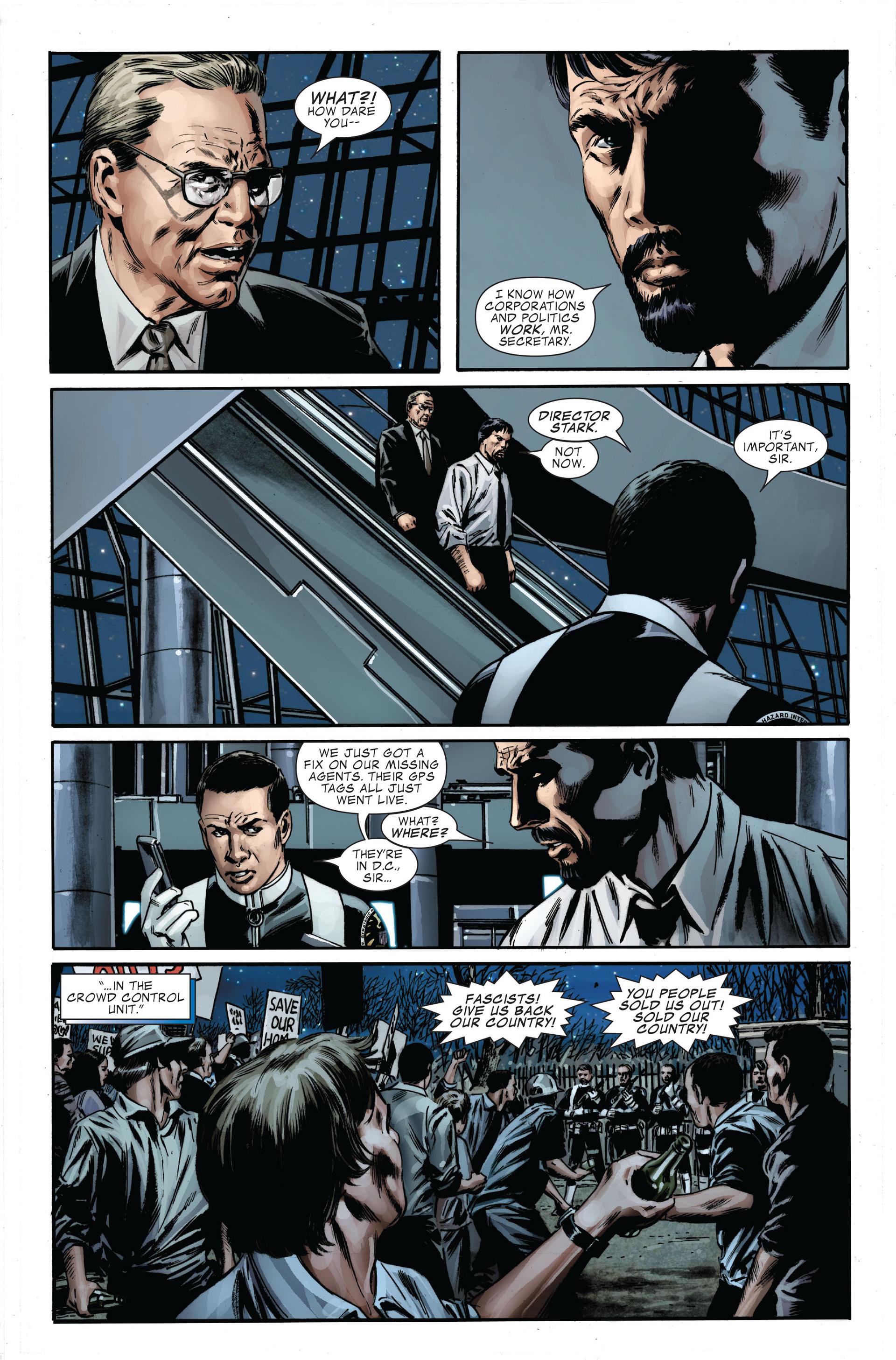 Captain America (2005) Issue #34 #34 - English 22