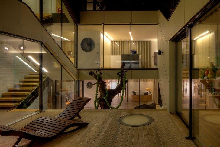 La casa eco sostenibile davide sarrecchia for Piani di casa con stanza della torre