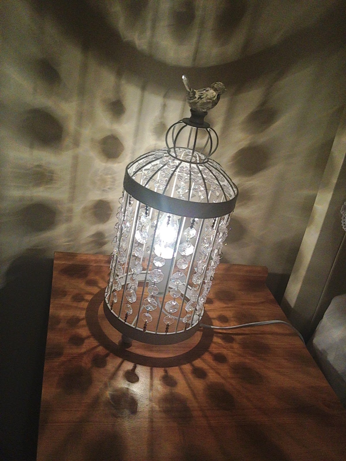 co lamps dandelion clocks lights lamp wine birdcage