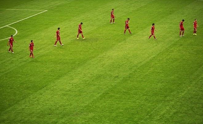 Những hình ảnh độc và lạ tại World Cup 2014