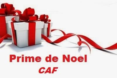 Versement Prime De Noel Caf