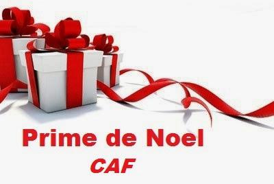 Prime de Noel CAF 2013, CAF,RSA,combien prime 2013 noel caf