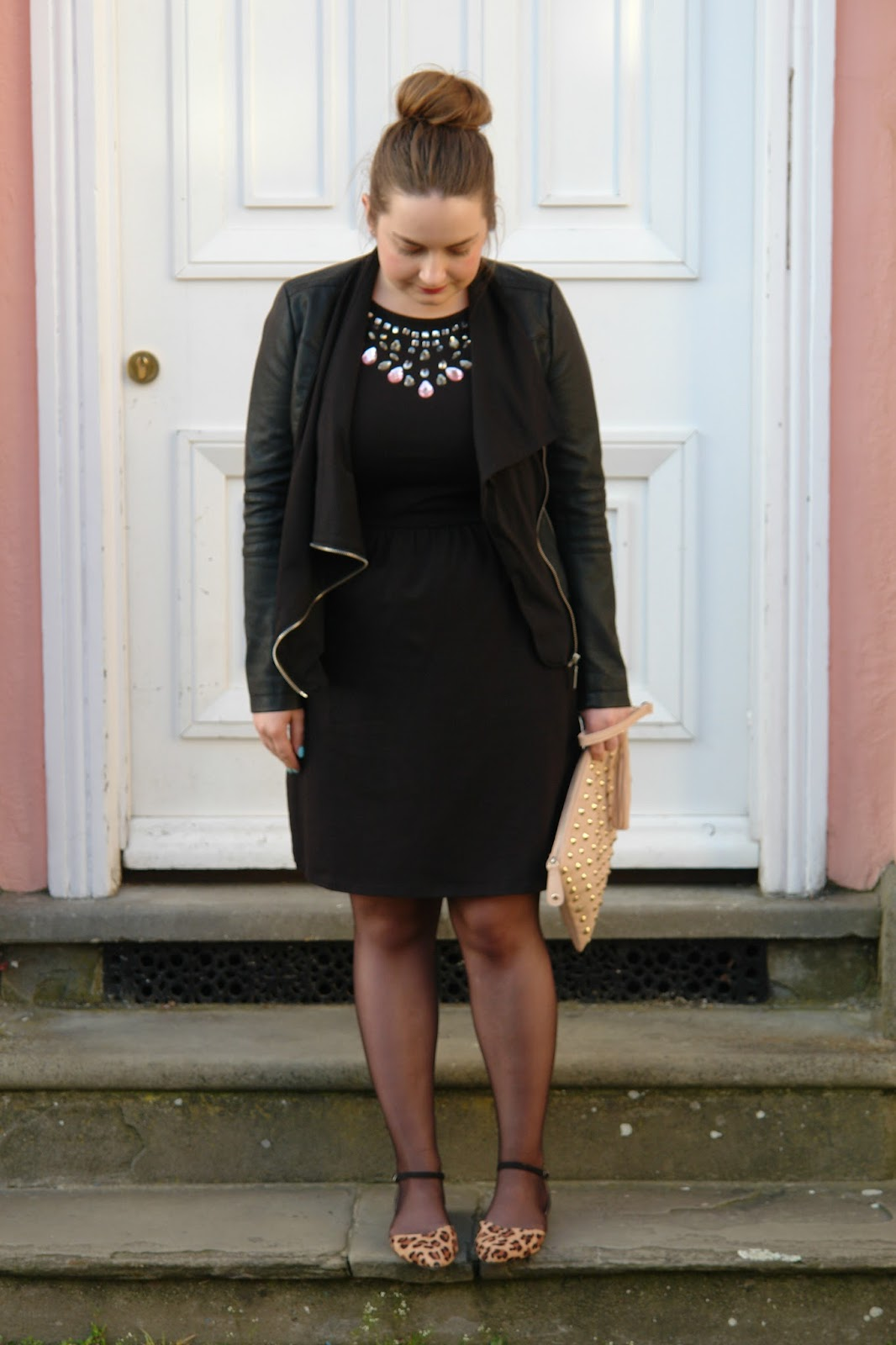 WHAT I WORE TODAY: little black dress for dinner date in Oxford, Outfit, OOTD